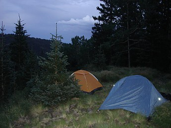 Camp-at-10000-feet-on-Weatherford-Trail-