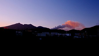 The-Shultz-fire-at-sunset-from-Elden-St-