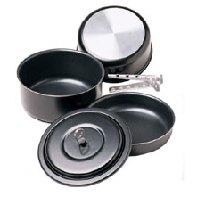 photo: MSR BlackLite Gourmet Cookset pot/pan