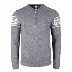 photo: Dale of Norway Bykle Masculine Sweater long sleeve performance top