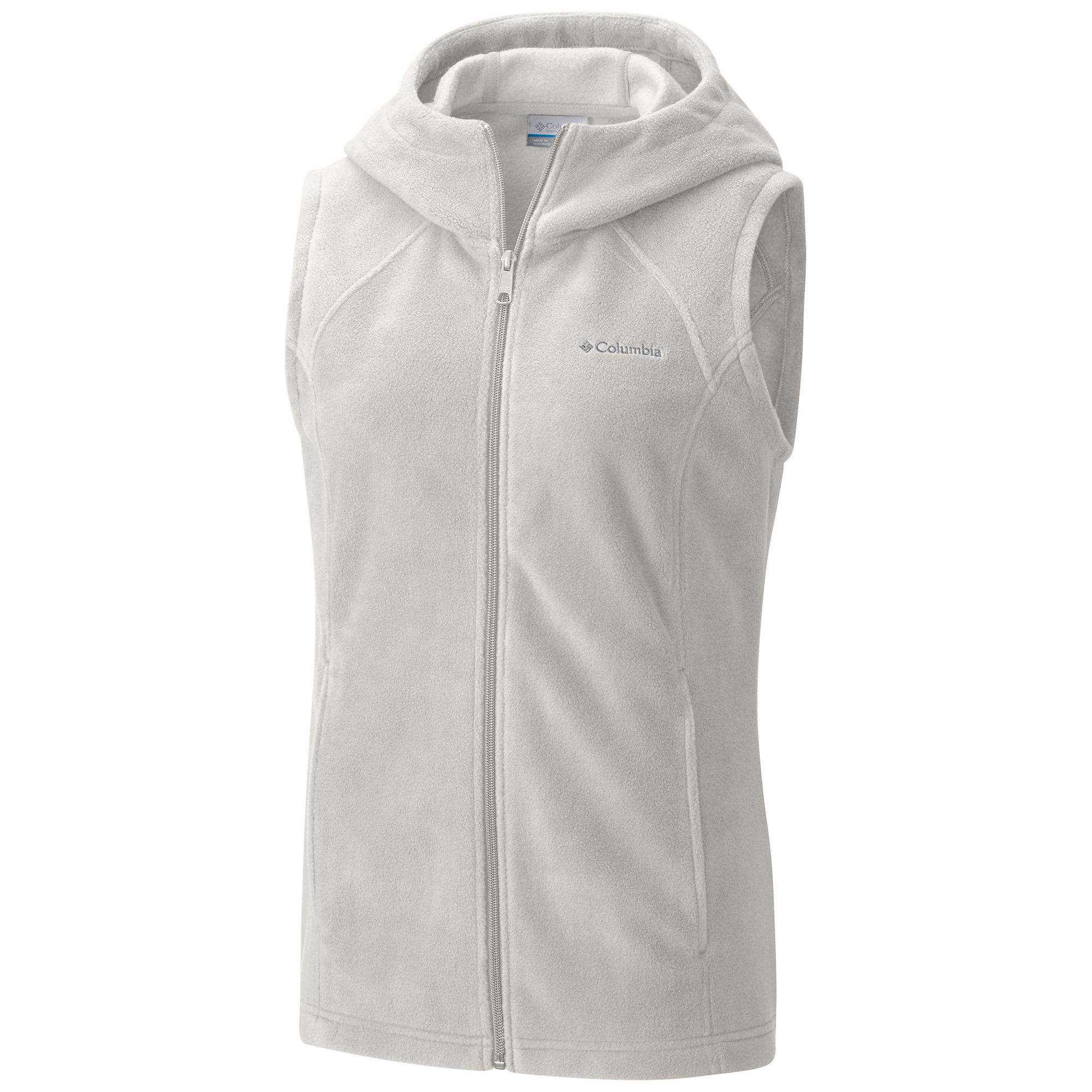 photo: Columbia Benton Springs Hooded Vest fleece vest