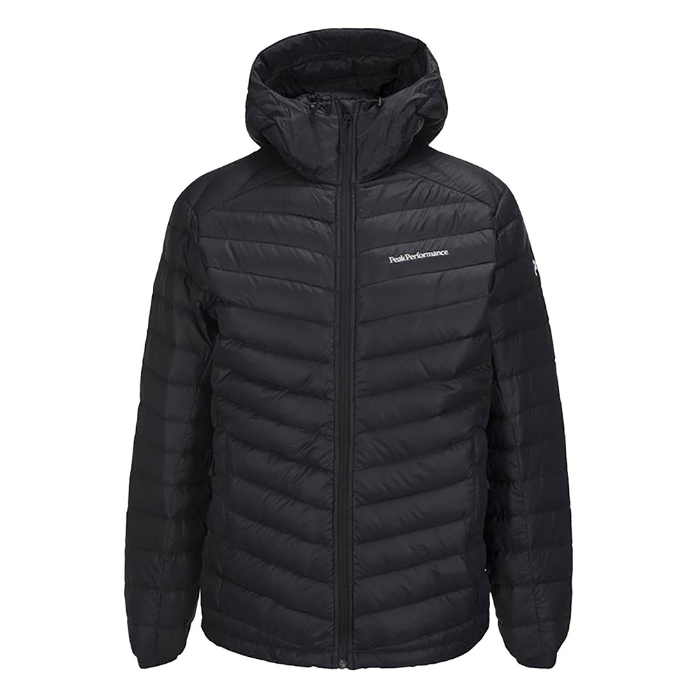 photo: Peak Performance Frost Down Long Hooded Jacket down insulated jacket
