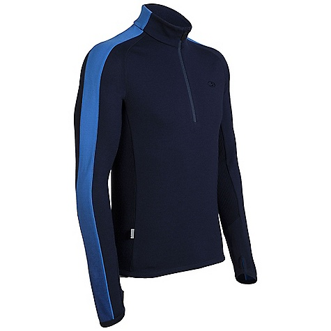 photo: Icebreaker Polaris Long Sleeve Half Zip long sleeve performance top