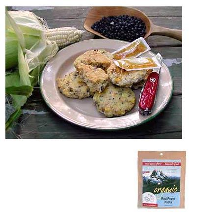photo: Mary Janes Farm Organic Black Bean Corn Bread snack/side dish