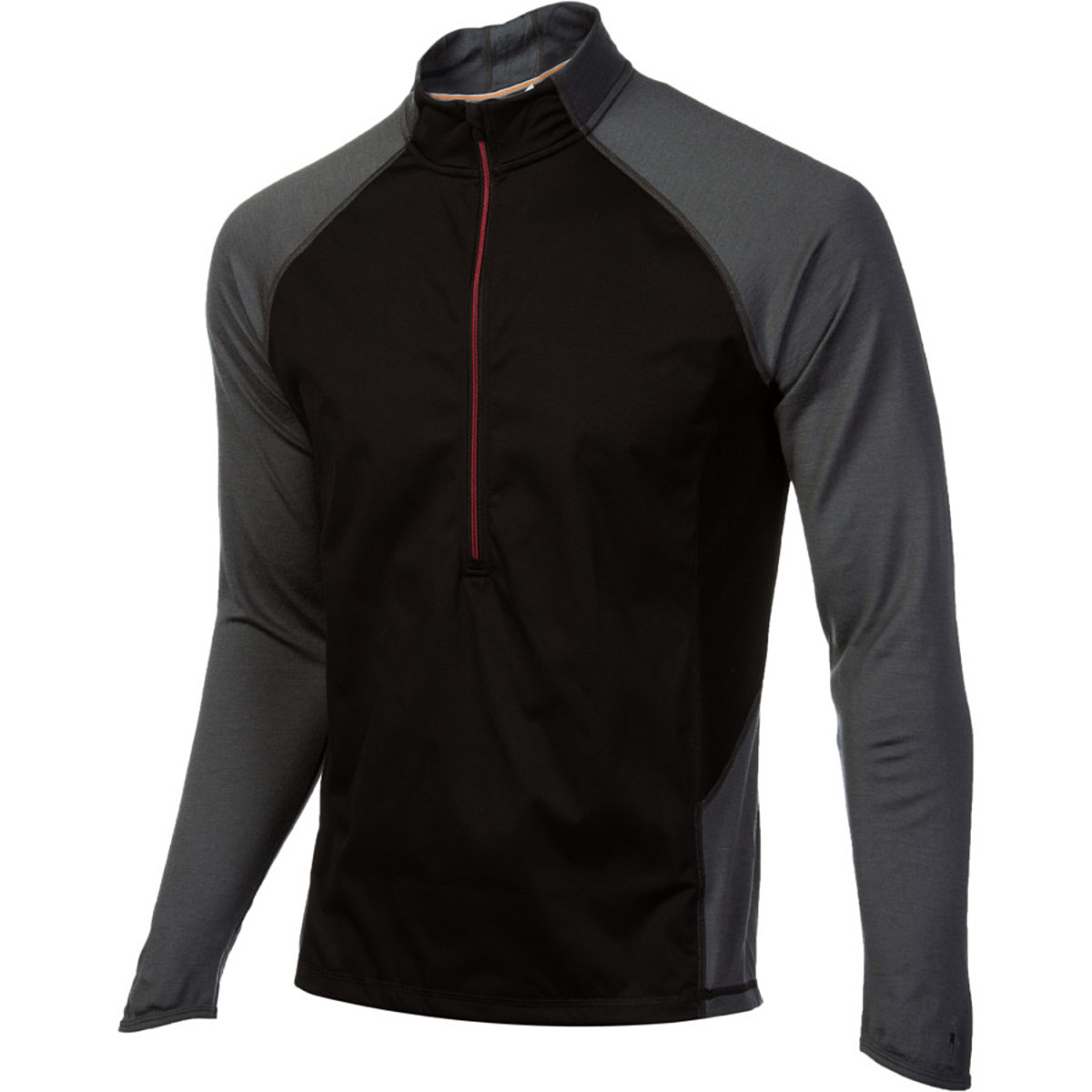 photo: Smartwool PhD Lightweight Wind Zip T base layer top
