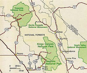 Loop hikes in Kings CanyonSeqouia National Park Trailspacecom