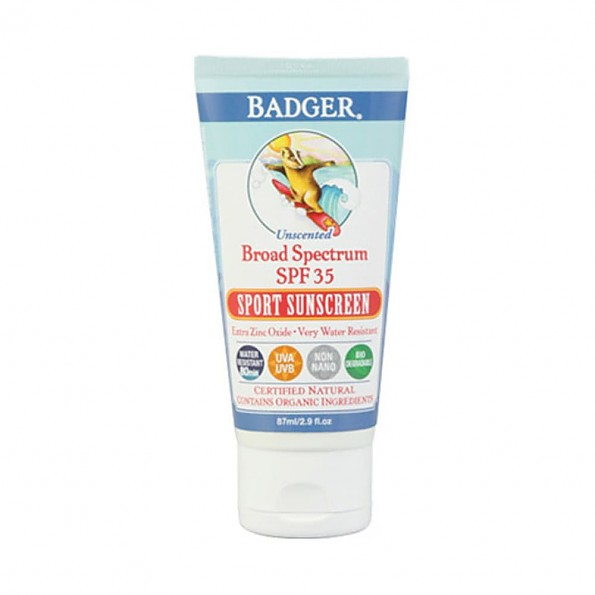 Badger Sport Broad Spectrum SPF 35 Sunscreen