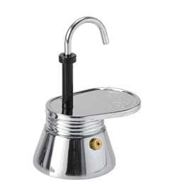photo: GSI Outdoors 1 Cup Stainless Mini Expresso kettle