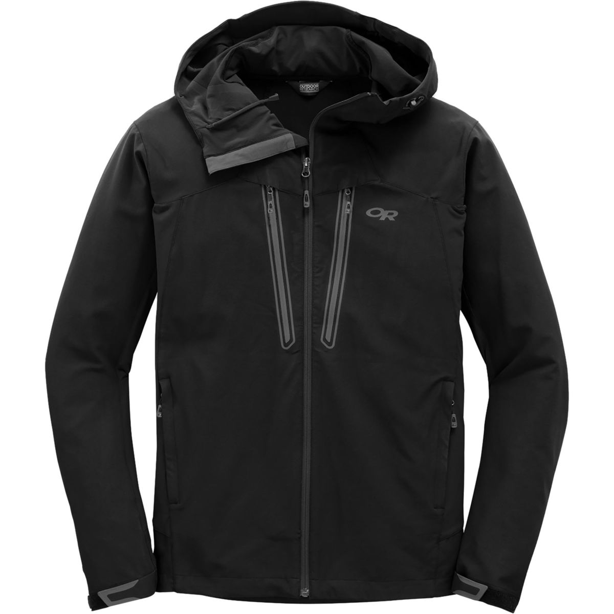 photo: Outdoor Research Ferrosi Summit Hooded Jacket soft shell jacket