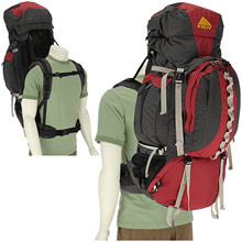 photo: Kelty Red Cloud 6650 expedition pack (70l+)