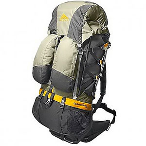 photo: Kelty Continental Divide 5300 (External) external frame backpack