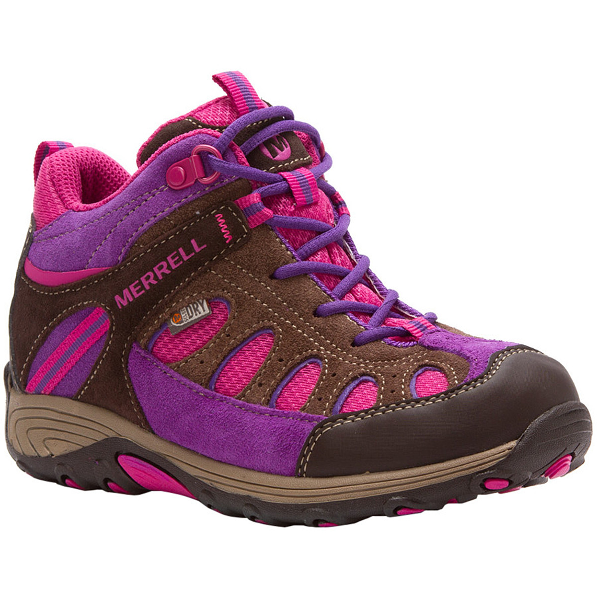 photo: Merrell Kids' Chameleon Mid Waterproof hiking boot