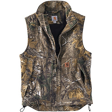 photo: Carhartt Quick Duck Camo Vest synthetic insulated vest