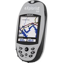 photo: Magellan eXplorist 500 handheld gps receiver