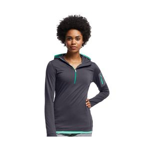photo: Icebreaker Terra Long Sleeve Half Zip Hood long sleeve performance top