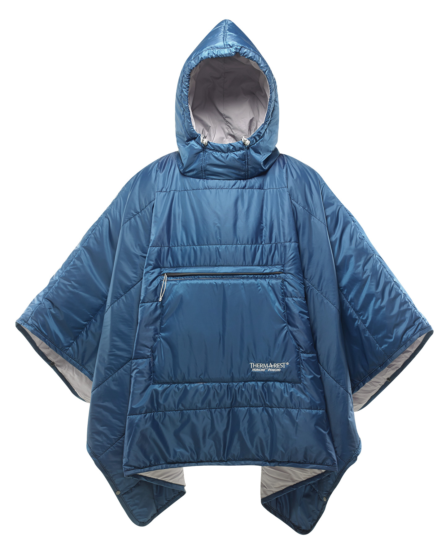 photo: Therm-a-Rest Honcho Poncho synthetic insulated jacket