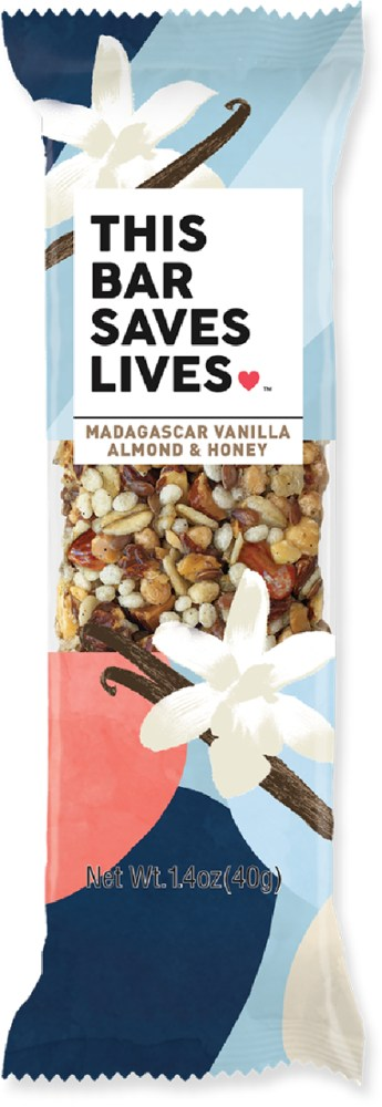photo of a This Bar Saves Lives nutrition bar