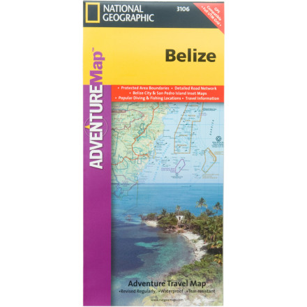 National Geographic International Adventure Map