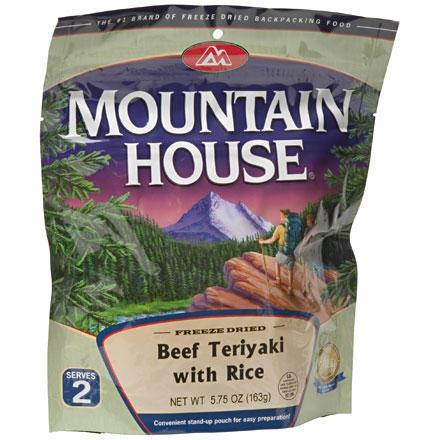 photo: Mountain House Beef Teriyaki meat entrée