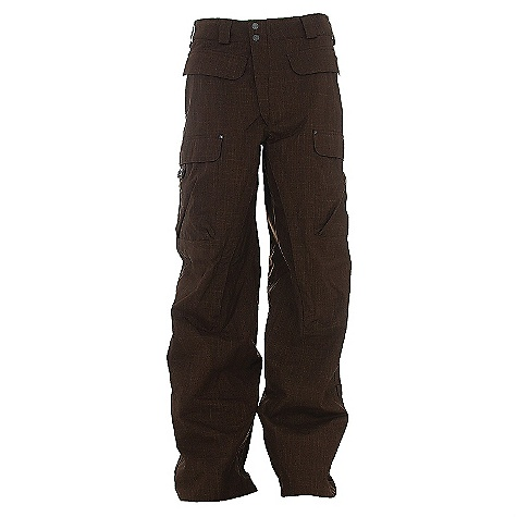photo: Burton Ronin Cargo Pant waterproof pant
