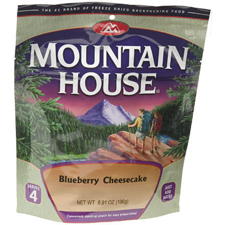 photo: Mountain House Blueberry Cheescake dessert