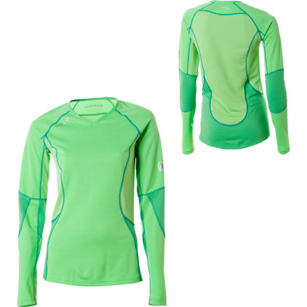 photo: Mammut Women's All-Year Longsleeve base layer top