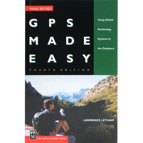 photo: The Mountaineers Books GPS Made Easy camping/hiking/backpacking book