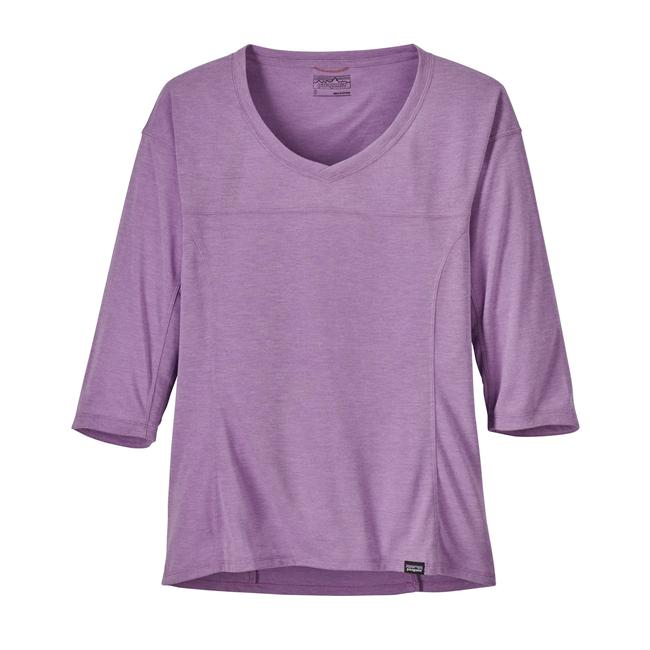 photo: Patagonia Women's Nine Trails Bike Jersey long sleeve performance top