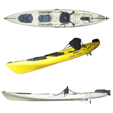 photo: Ocean Kayak Torque Angler sit-on-top kayak