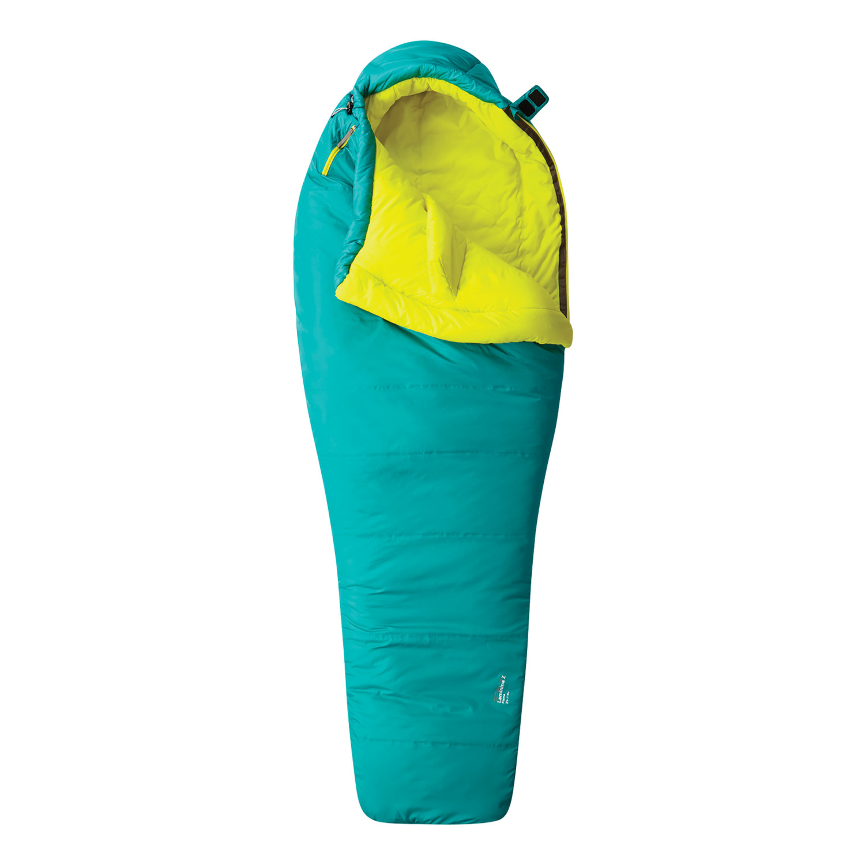 photo: Mountain Hardwear Laminina Z Flame 3-season synthetic sleeping bag