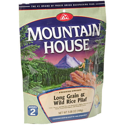 Mountain House Long Grain & Wild Rice Pilaf