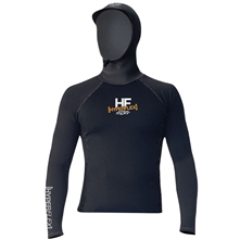 photo: HyperFlex Polyolefin Long Sleeve Hooded Rashguard long sleeve rashguard