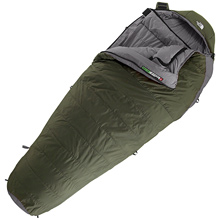 photo: The North Face Goliath 3D 3-season synthetic sleeping bag
