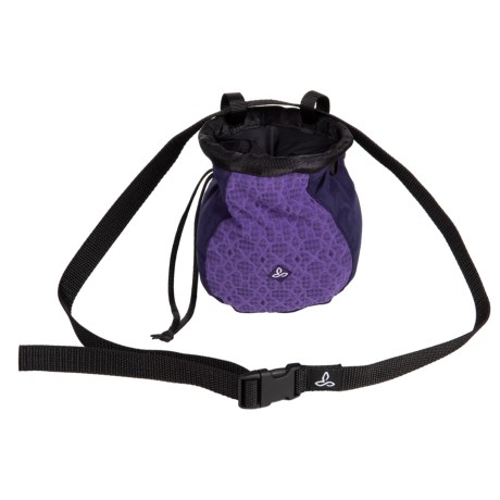 photo of a prAna chalk bag