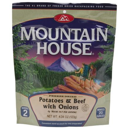 Mountain House Potatoes & Beef with Onions