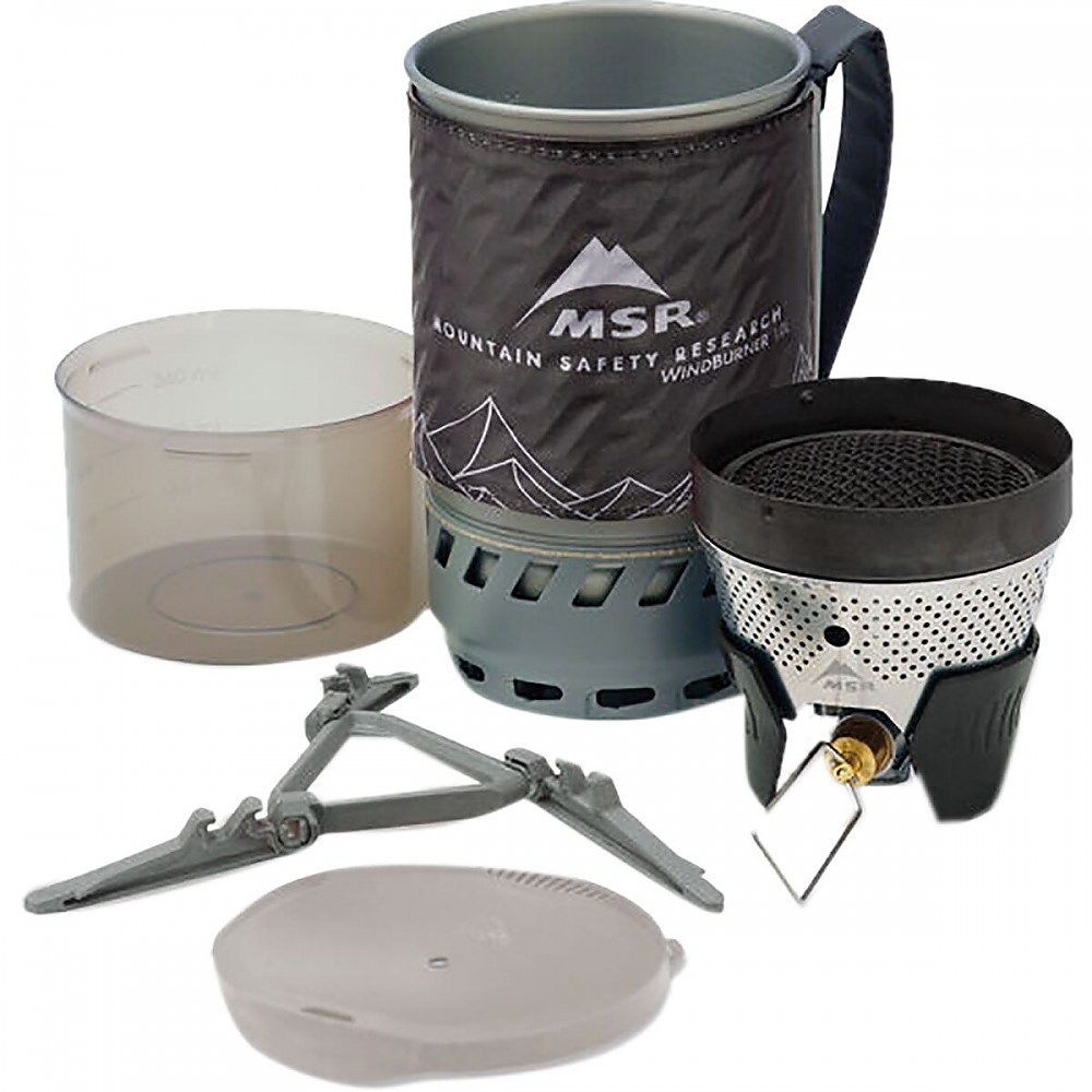photo: MSR WindBurner Personal Stove System compressed fuel canister stove