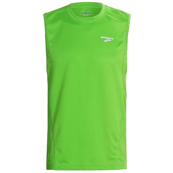 photo: Brooks Versatile Shirt Sleeveless short sleeve performance top