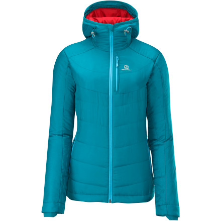 photo: Salomon Women's Insulated Hoodie Jacket synthetic insulated jacket