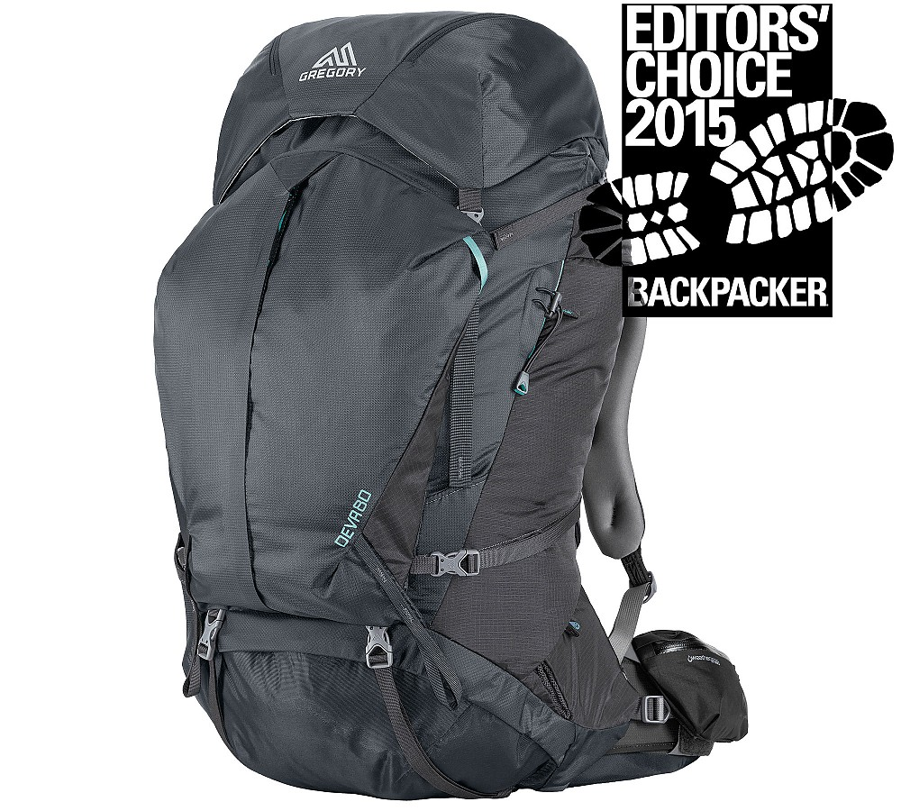 photo: Gregory Deva 80 expedition pack (70l+)