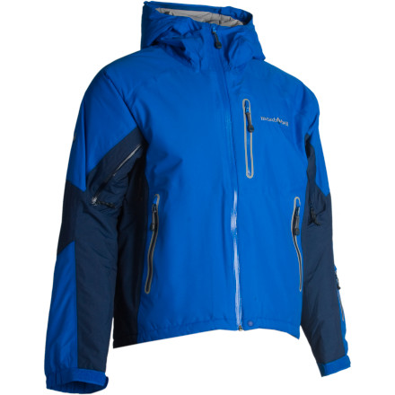 photo: MontBell Men's Powder Light Parka synthetic insulated jacket