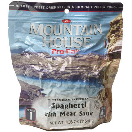 photo: Mountain House Spaghetti with Meat Sauce Pro-Pak meat entrée