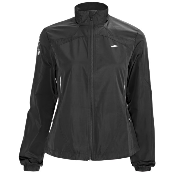 photo: Brooks Essential Run Jacket long sleeve performance top