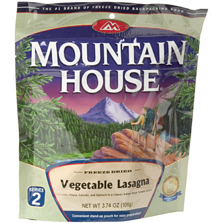 Mountain House Vegetable Lasagna