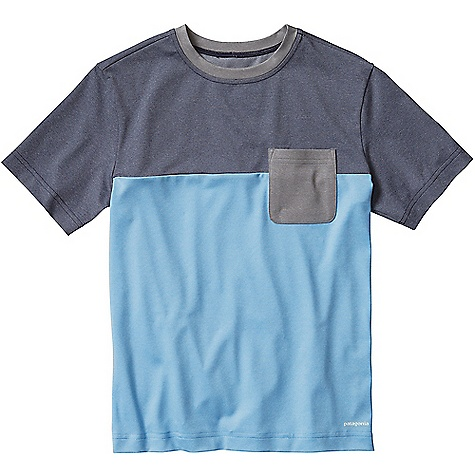Patagonia Capilene Daily Colorblock Tee