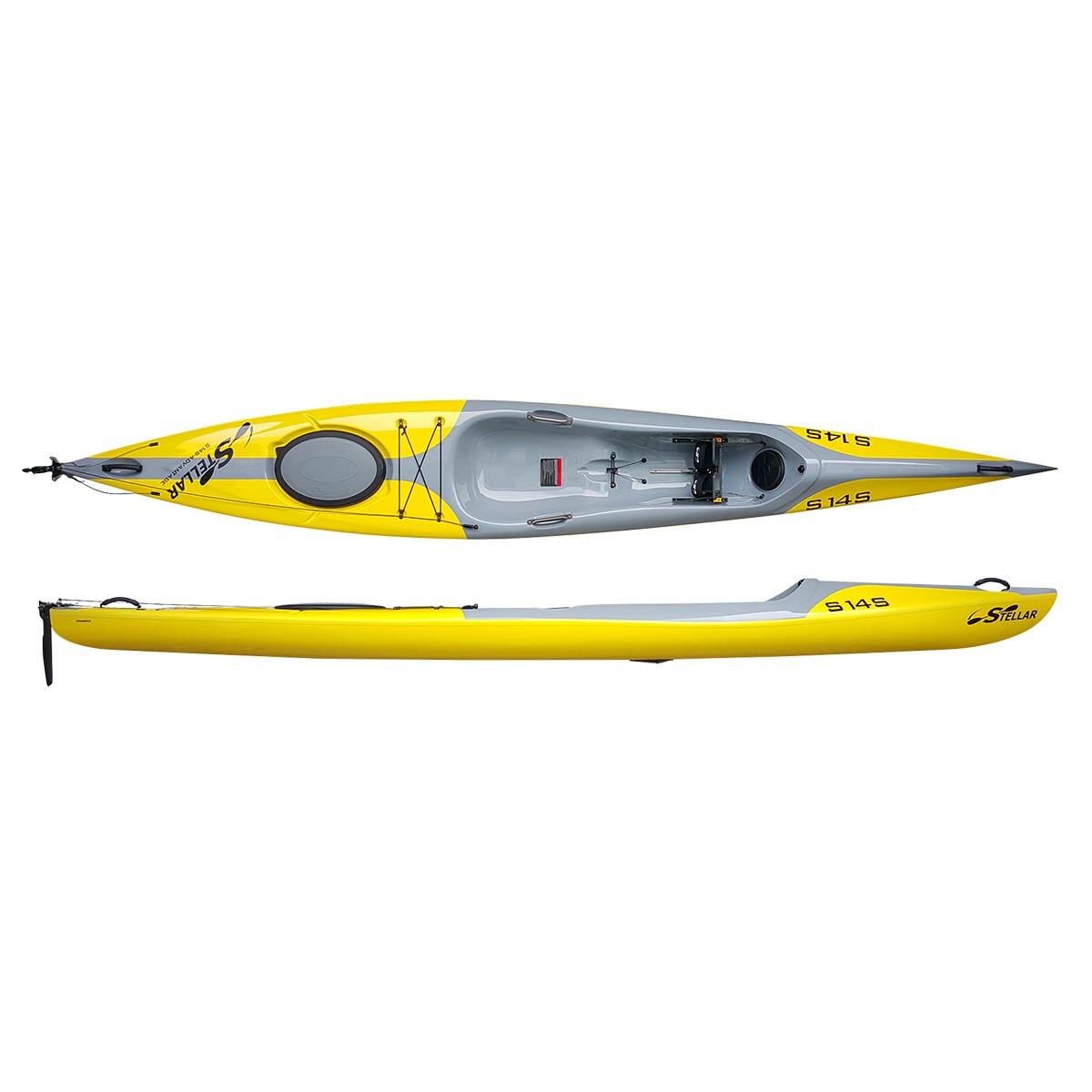 photo: Stellar Kayaks 14' Surf Ski S14S sit-on-top kayak