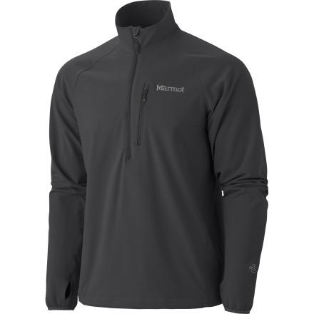photo: Marmot Tempo 1/2 Zip soft shell jacket