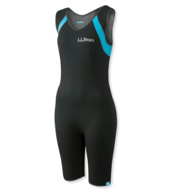 L.L.Bean Superstretch Titanium Sleeveless Shorty Wet Suit