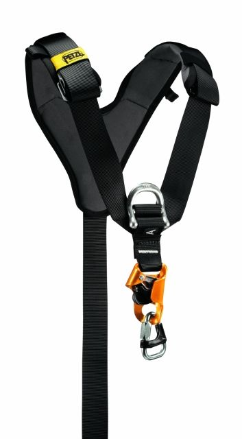 photo: Petzl Top Croll Chest Harness chest harness