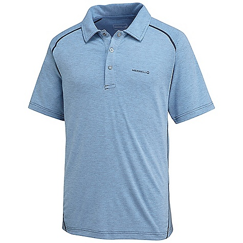 photo: Merrell NGeo Polo short sleeve performance top