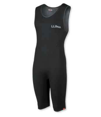 photo: L.L.Bean Superstretch Titanium Sleeveless Shorty Wet Suit wet suit